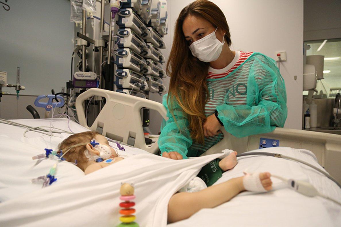 Los dos centros catalanes han alcanzado la cifra récord de trasplantes infantiles en 2018