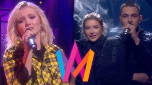 Malou y Hanna Ferm & LIAMOO, nuevos finalistas del Melodifestivalen 2019.