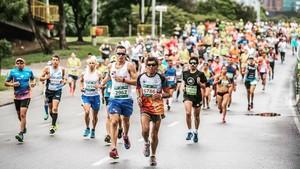 El maratón de Medellín, en una edición anterior.