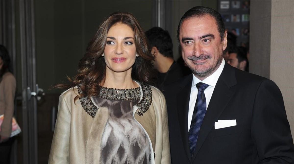 Mariló Montero y Carlos Herrera, en una imagen del 2010.