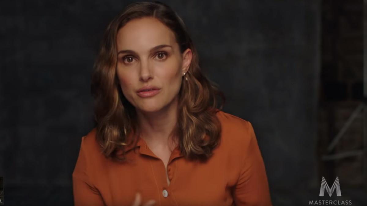 Natalie Portman se suma a las MasterClass de las celebridades de Hollywood.