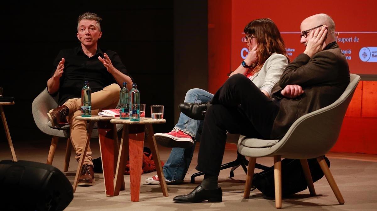 Mesa redonda en Kosmopolis sobre Kubrick con Simon Roy, Laura Fernández yRodrigo Fresan