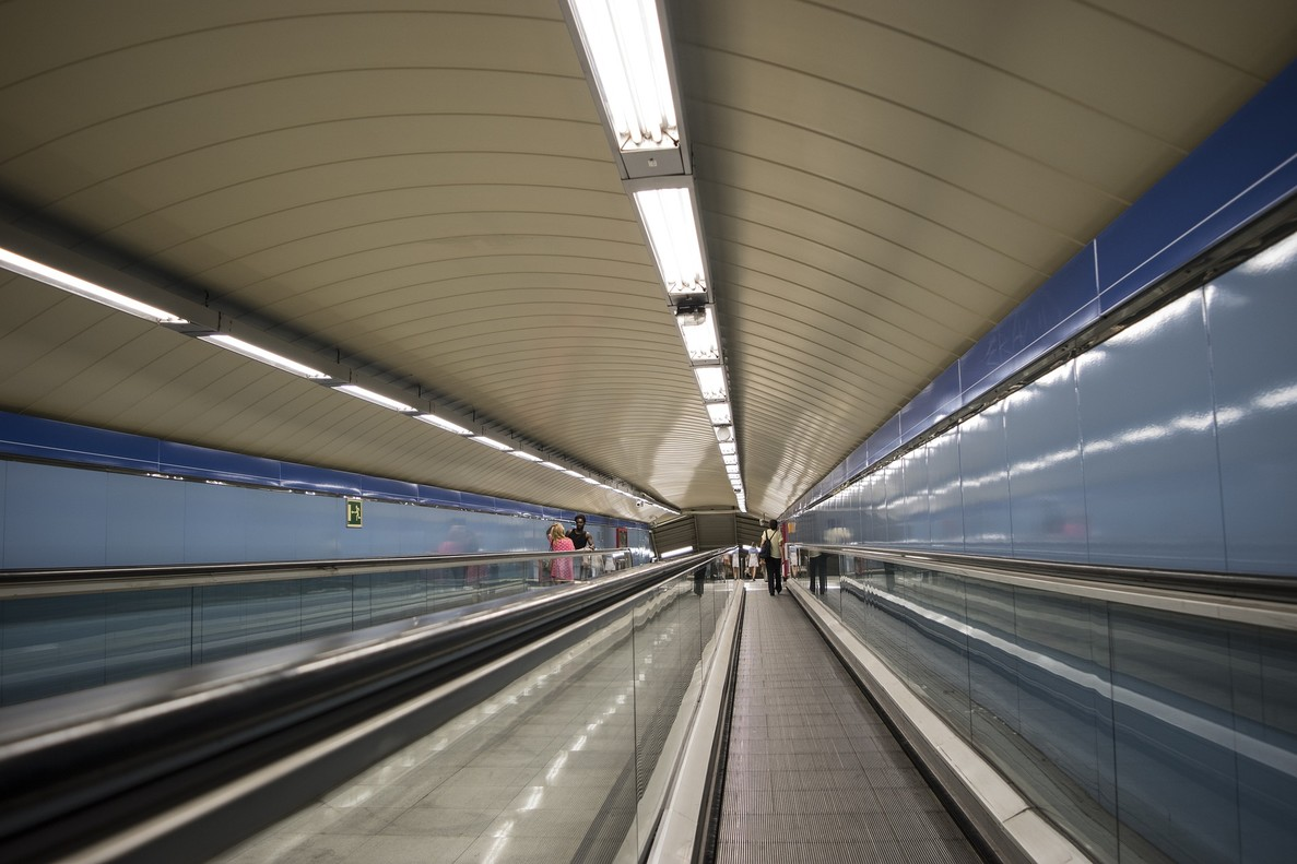 Imagen del Metro de Madrid.