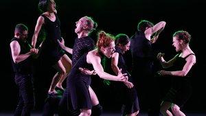 Un momento de la representación de Venezuela a cargo de la Batsheva Dance Company