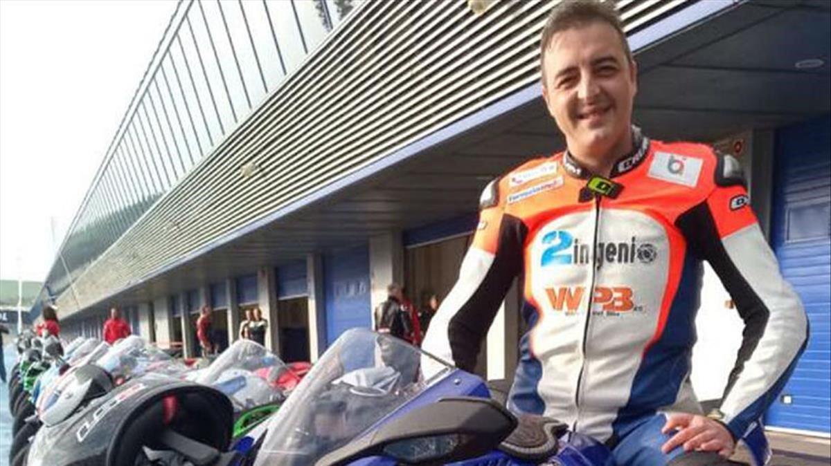 Muere el piloto de motos Ismael Bonilla en unos entrenamientos en Jerez.