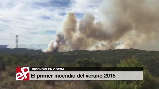 El incendio de Òdena avanza sin control tras arrasar 1.000 hectáreas