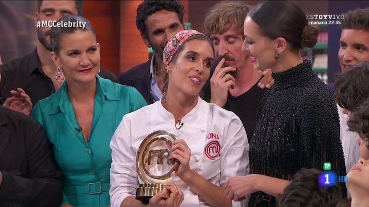 Ona Carbonell, ganadora de la tercera edición de 'Masterchef Celebrity'.