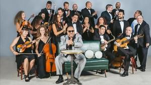 Petitet y su Orquestra Simfònica de Rumba del Raval.