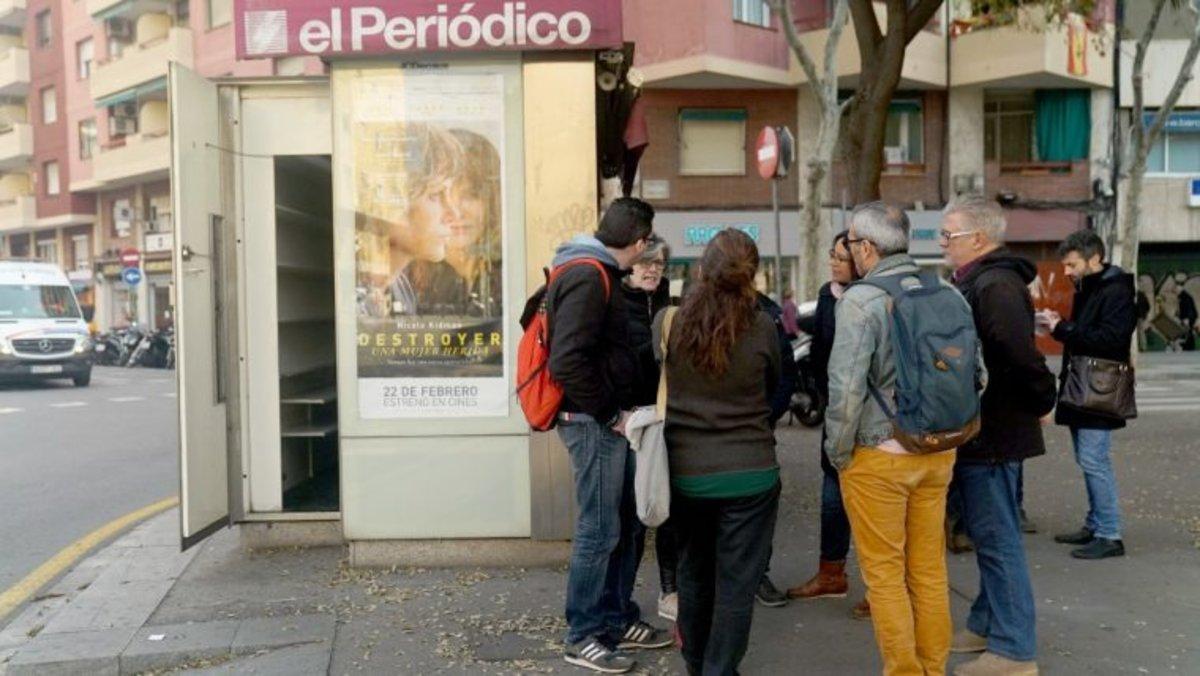Una cooperativa de persones amb discapacitat gestionarà quatre quioscos barcelonins en desús