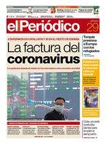 La portada de EL PERIÓDICO del 29 de febrero del 2020