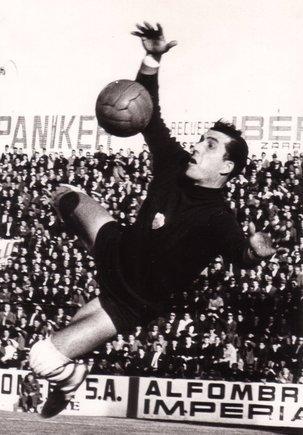 Mor el porter Manuel Pazos, llegenda de l'Atlètic i l'Elx