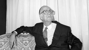 El premio Nobel Camilo José cela en 1989.