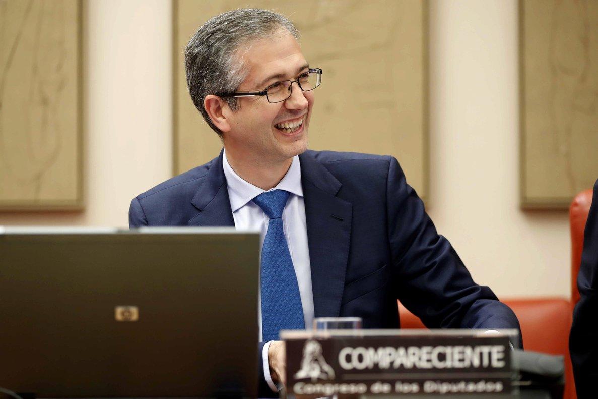 Pablo Hernández de Cos, presidente del Banco de España, en una imagen de archivo