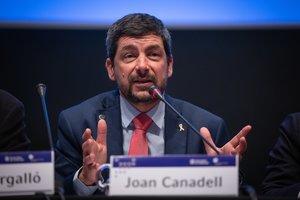 El presidente de la Cambra de Comerç de Barcelona, Joan Canadell.