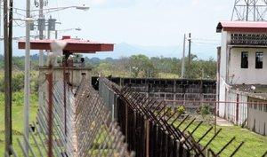 Prisión La Modelo, la más segura de Nicaragua.
