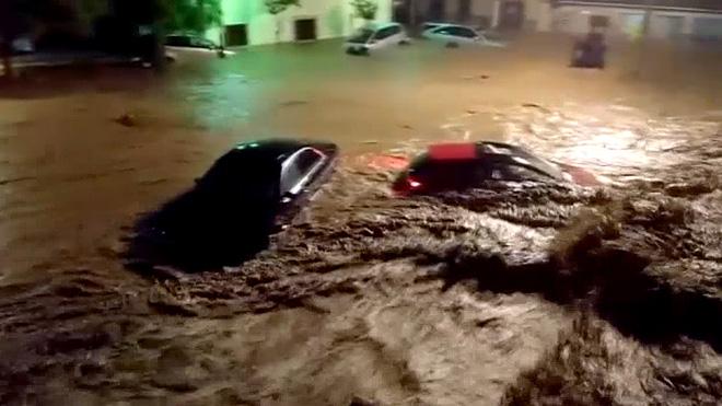 Un terç de Sant Llorenç es va construir en zona inundable