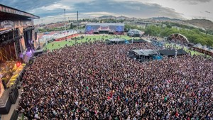 Público del Rock Fest Barcelona 2017.