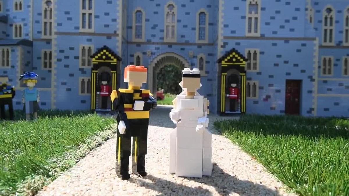 Recrean en Lego la boda del príncipe Enrique y Meghan Markle.