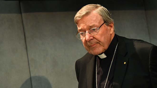 El cardenal Pell, que ha negado rotundamente los delitos de los que se le acusa.