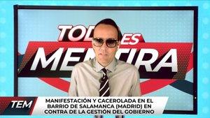 """Risto, indignado con Almeida y la Policía por las manifestaciones en Madrid: """"No es libertad de expresión"""""""