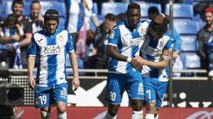 El Espanyol se divierte ante el colista