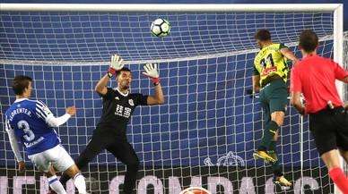 El Espanyol se lleva un valioso punto de Anoeta