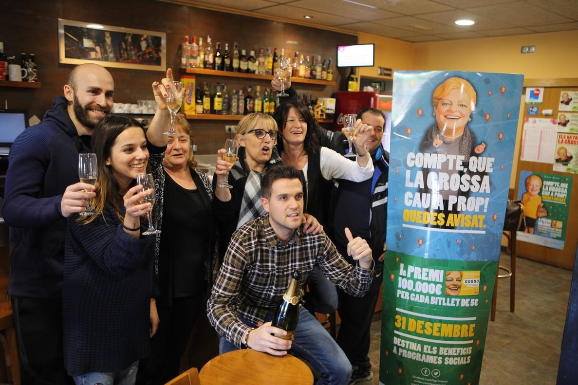 El restaurante Barceló, en Campdorà, ha vendido el segundo premio de La Grossa a la peña blaugrana La Creu de Sant Jordi.