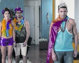SENSATESMiguel Ángel Silvestre, en una escena de la segunda temporada de Sense8.