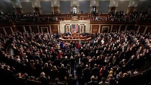 Sesión de la Cámara de Representantes de EEUU.