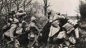 Soldados franceses en la primera guerra mundial.