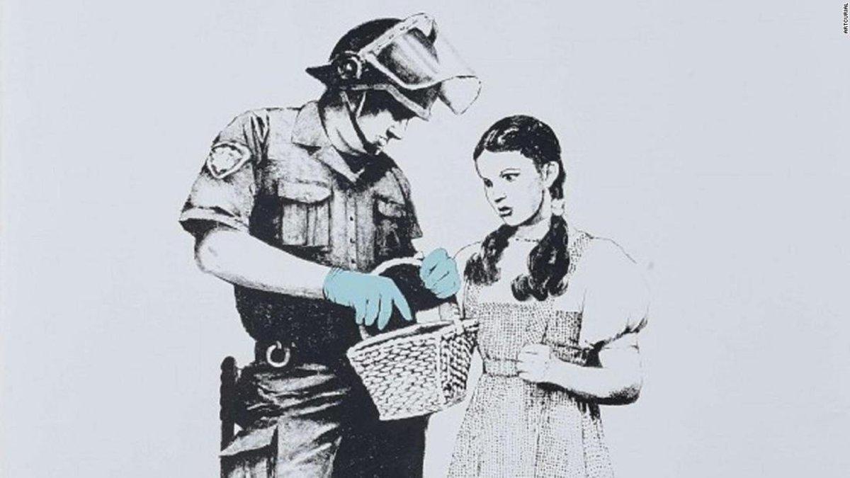 Subastan obras de Banksy pero esta vez sin autodestruirse