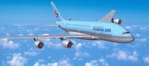 Una avión de Korean Air.