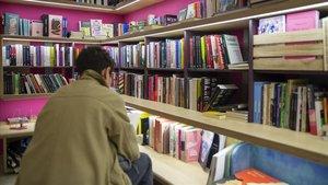 Una librería barcelonesa.