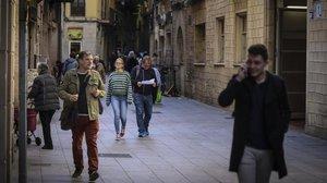 Cursa d'obstacles a Ciutat Vella