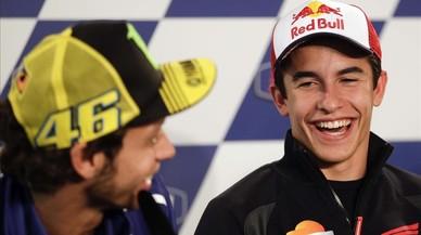 Italia y la tribu de Rossi esperan de uñas a un arrollador Márquez