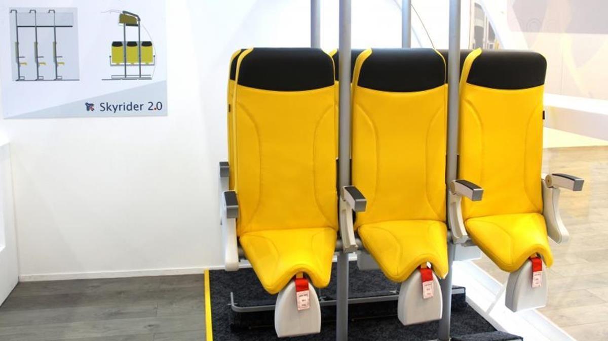 Asientos en los aviones que ya no serán asientos