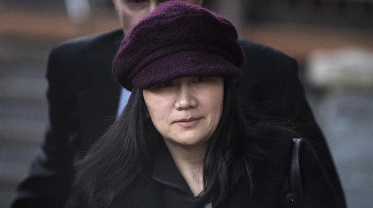 La vicepresidenta de Huawei, Meng Wanzhou.