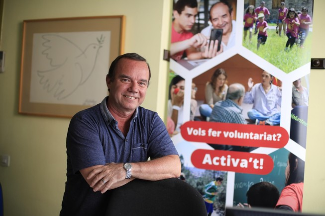«El voluntariat és molt gratificant, si ajudes els altres t'ajudes a tu»
