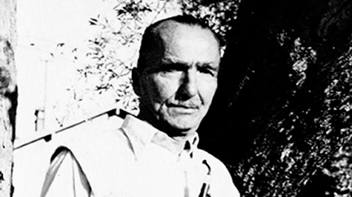 El escritor Nikos Zakantzakis.