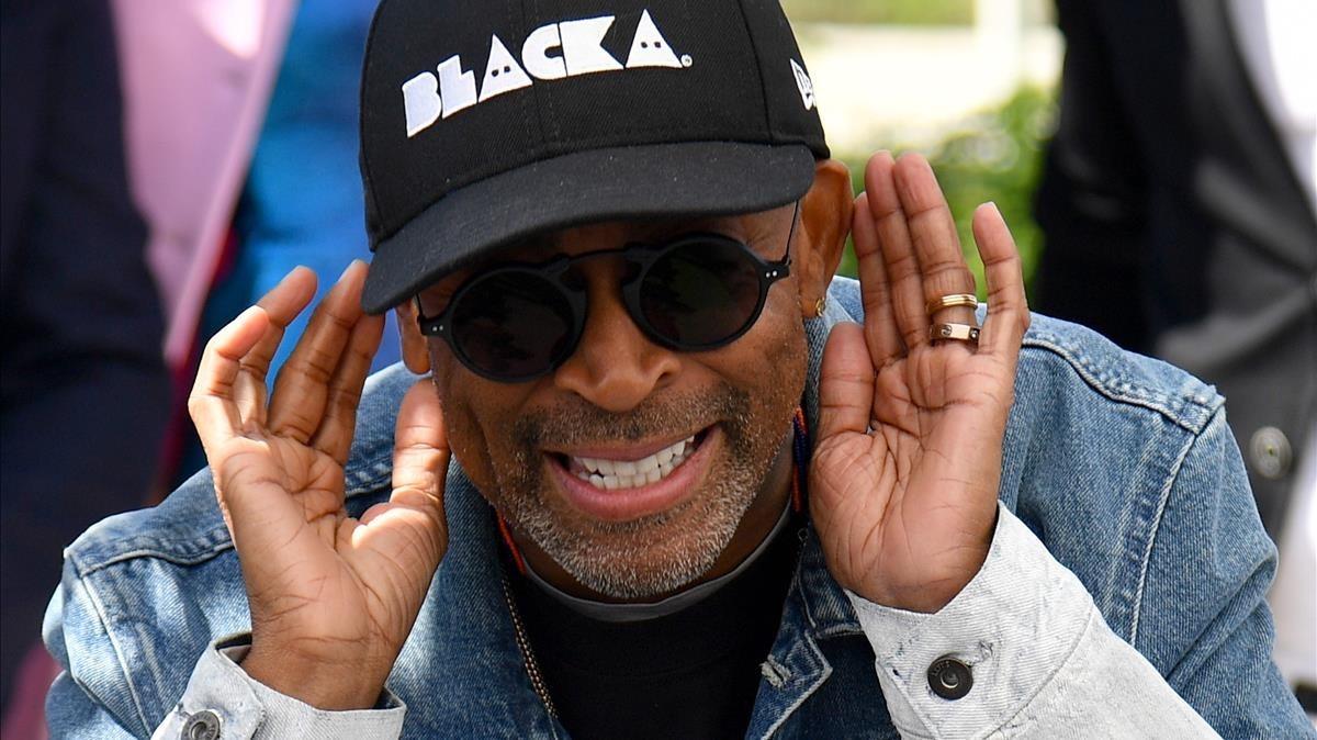 Spike Lee, en Cannes.