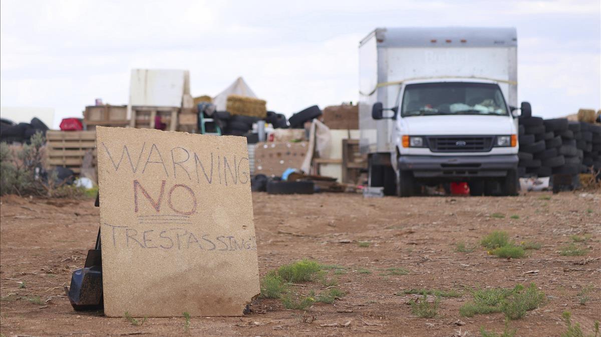 La policia halla restos de un menor en el lugar donde liberó a 11 niños en EEUU