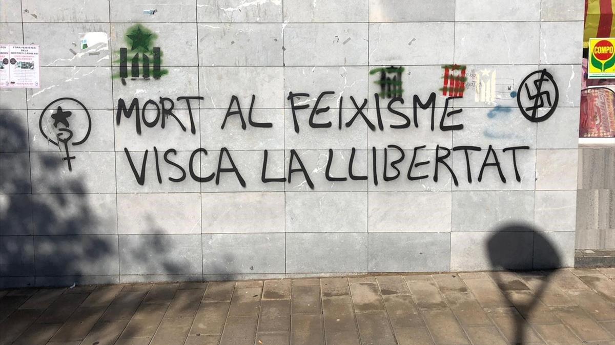 Quatre veïns denuncien uns cartells que els assenyalen com a GDR