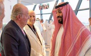 Joan Carles va viatjar dilluns a Abu Dhabi, segons el diari 'Abc'