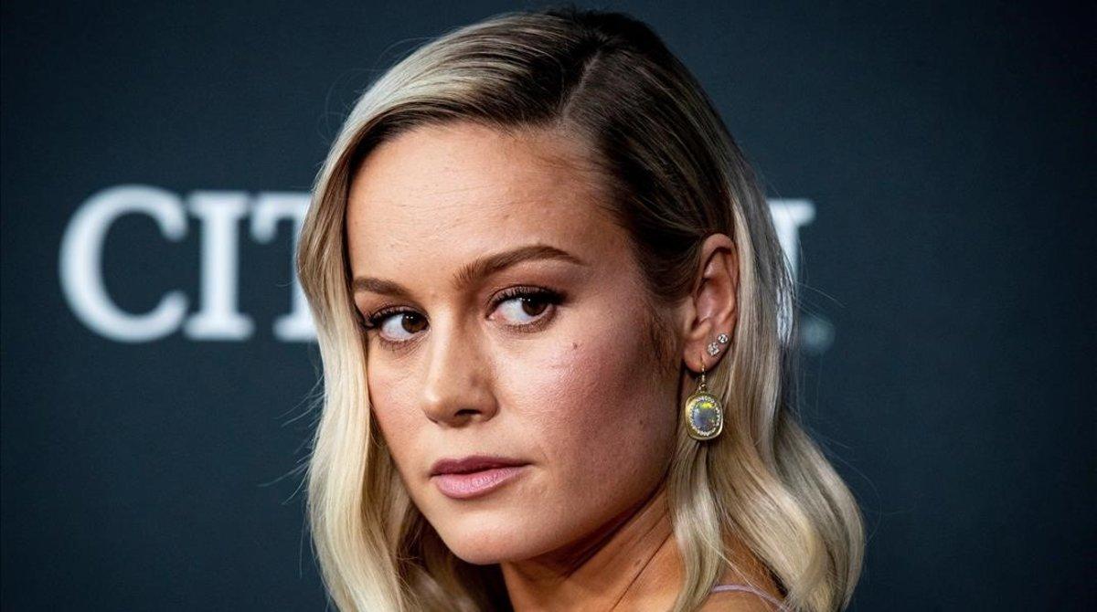 Brie Larson, una de las protagonistas de la película.