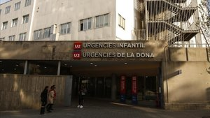 Entrada de urgencias del hospital Vall d'Hebron