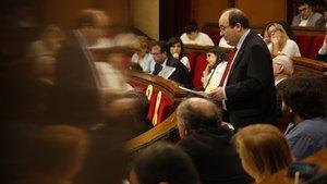 Iceta, de 'lampista' de la Moncloa a president del Senat