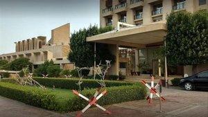 El Hotel Pearl Continental en Pakistán, antes de ser atacado por terroristas.