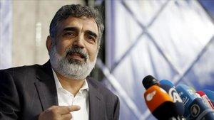 Behrouz Kamlavandi, portavóz de la Organización de la Energía Atómica de Irán.