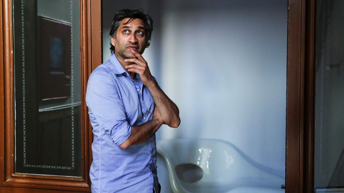 El cineasta Asif Kapadia, esta semana en Madrid.