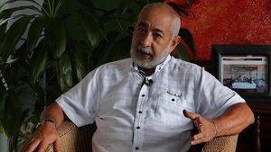 El escritor cubano Leonardo Padura en su casa de La Habana.